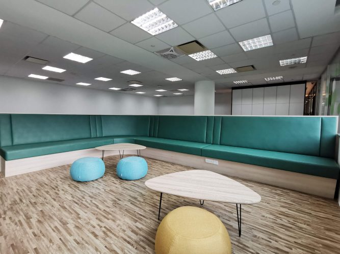 modern office interior design package singapore